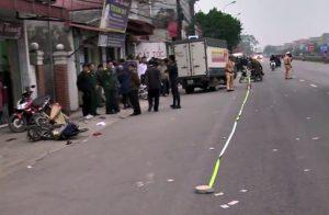 Hiện trường vụ tai nạn tại Hưng Yên