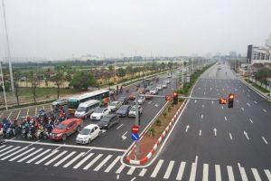 Khánh thành cầu vượt Cổ Linh - Vĩnh Tuy