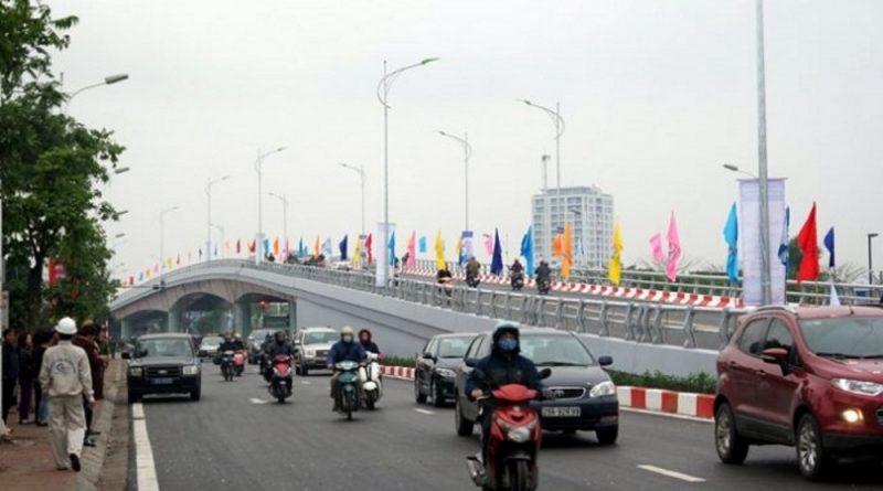 Tin tức thông xe cầu vượt Cổ Linh - Vĩnh Tuy - giao thông thông minh